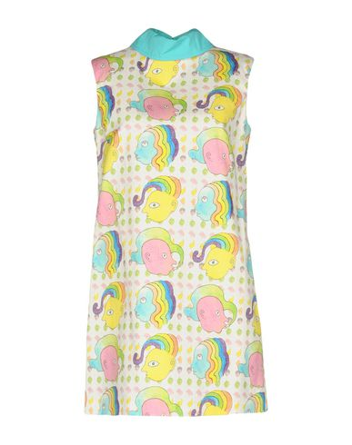 Купить Женское короткое платье OLYMPIA LE-TAN белого цвета