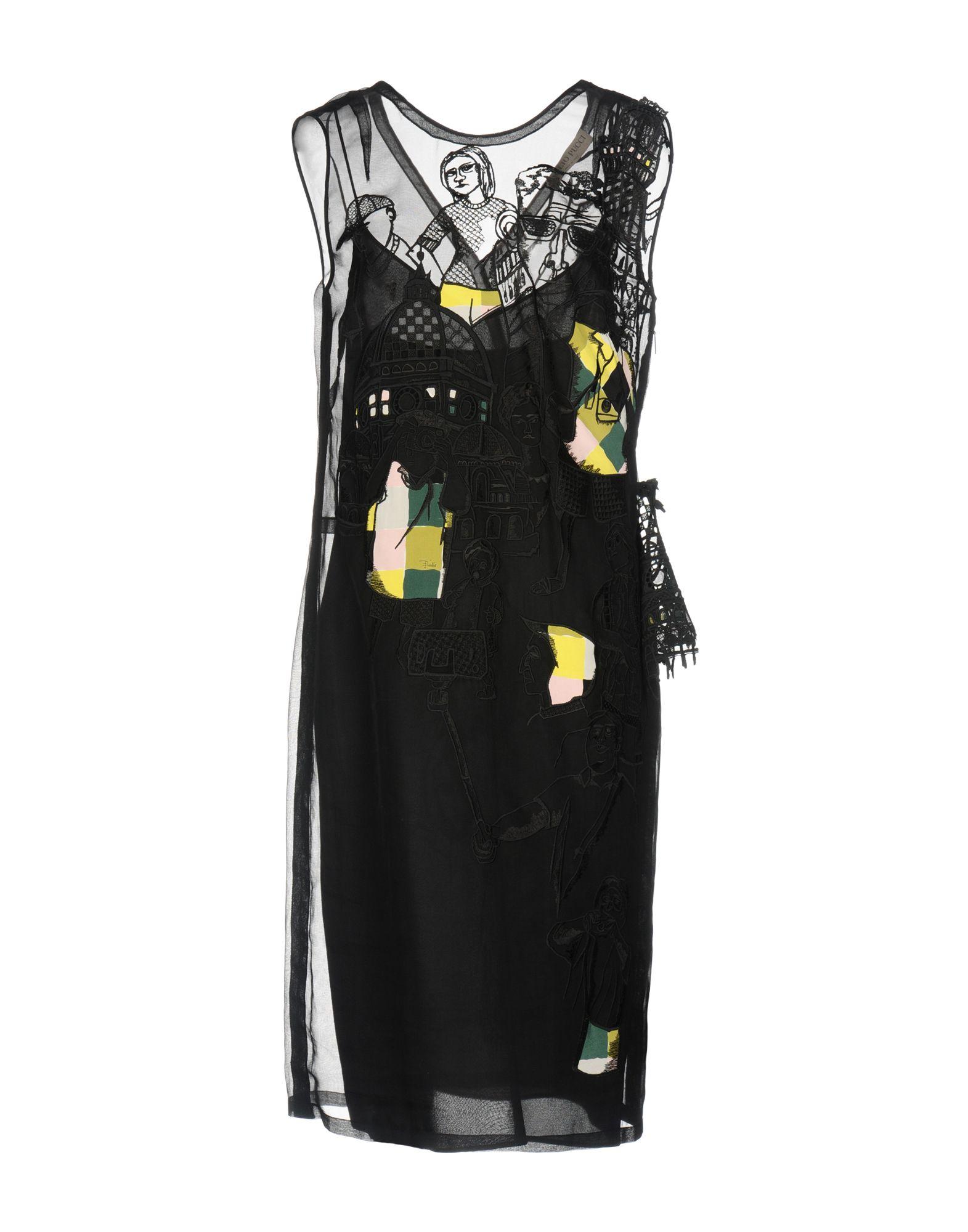 EMILIO PUCCI Платье до колена sly010 платье до колена