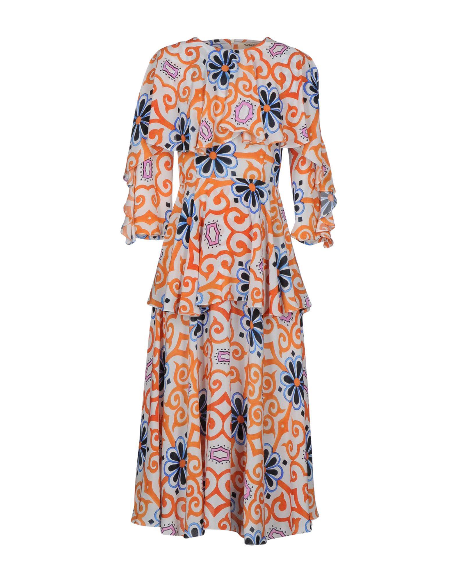 TATA-NAKA Платье длиной 3/4 lisa corti платье длиной 3 4