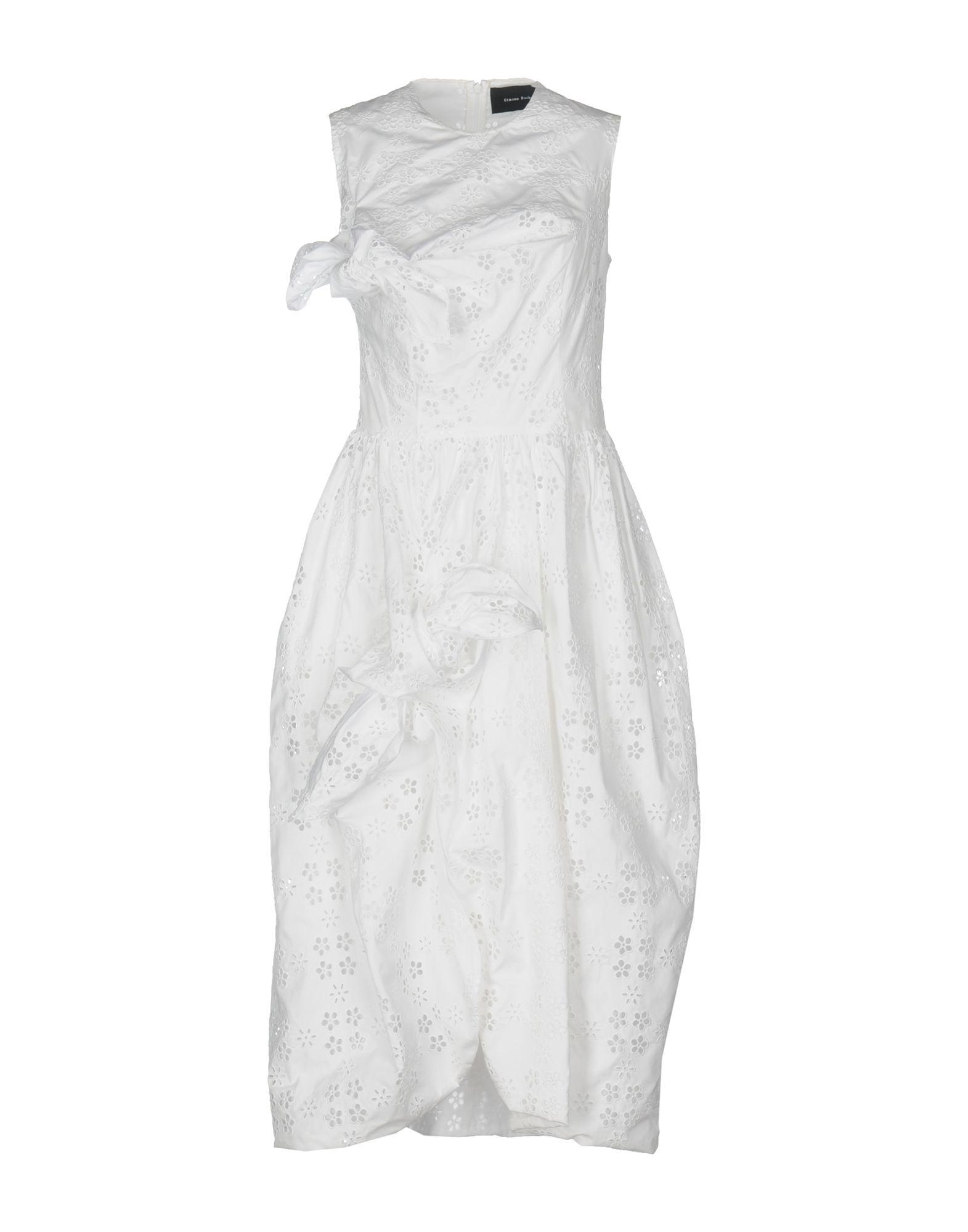 SIMONE ROCHA Платье длиной 3/4 simone rocha длинное платье