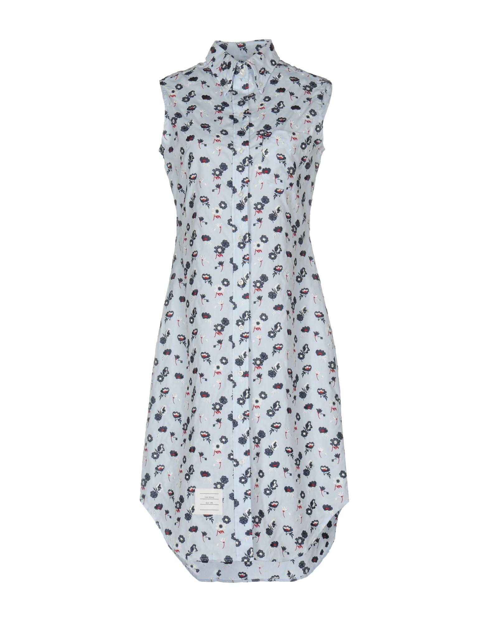 где купить  THOM BROWNE Короткое платье  по лучшей цене