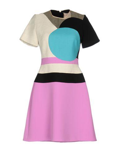 Фото - Женское короткое платье ROKSANDA розовато-лилового цвета