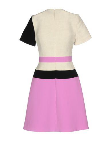 Фото 2 - Женское короткое платье ROKSANDA розовато-лилового цвета