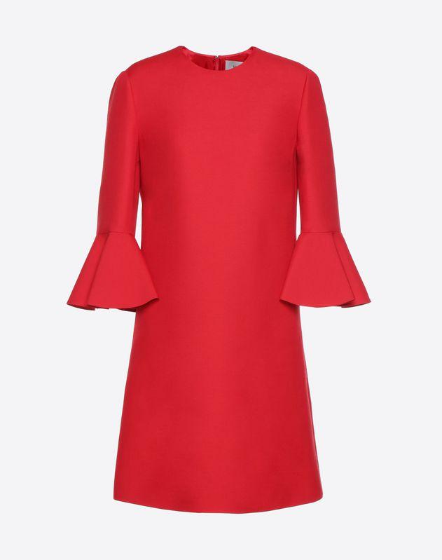Kleid aus Crêpe Couture