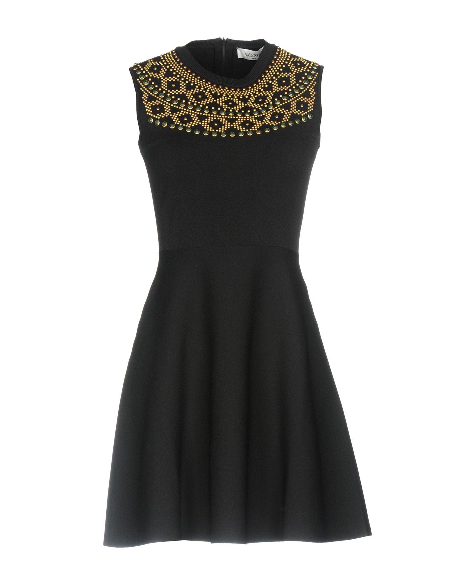 Фото VALENTINO Короткое платье. Купить с доставкой