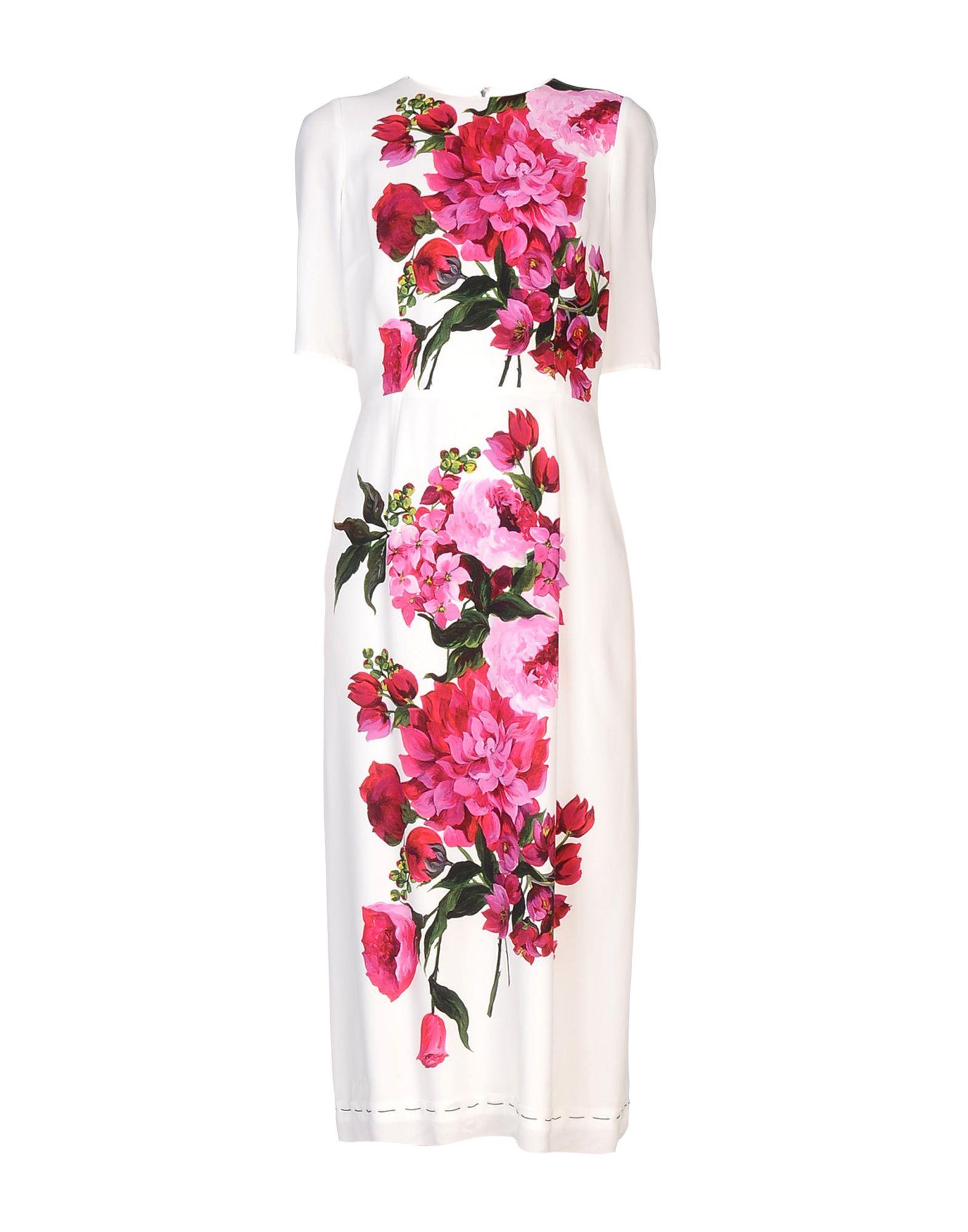 DOLCE & GABBANA Платье длиной 3/4 lisa corti платье длиной 3 4