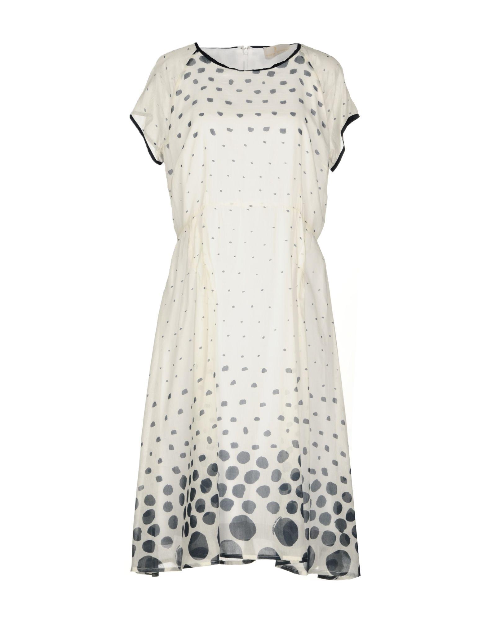 купить ROBERTA SCARPA Платье до колена по цене 27500 рублей
