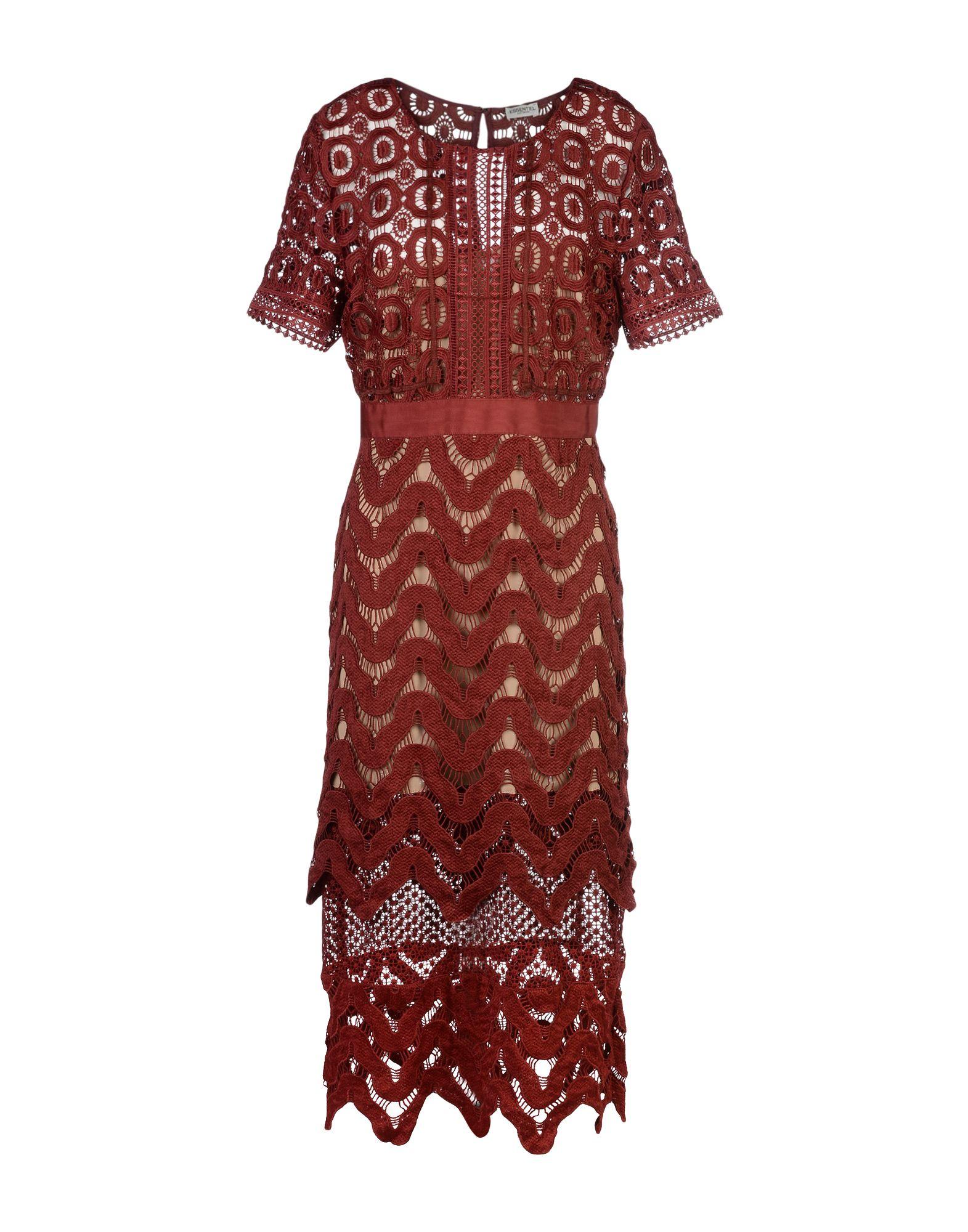 ESSENTIEL ANTWERP Платье длиной 3/4 essentiel antwerp платье длиной 3 4