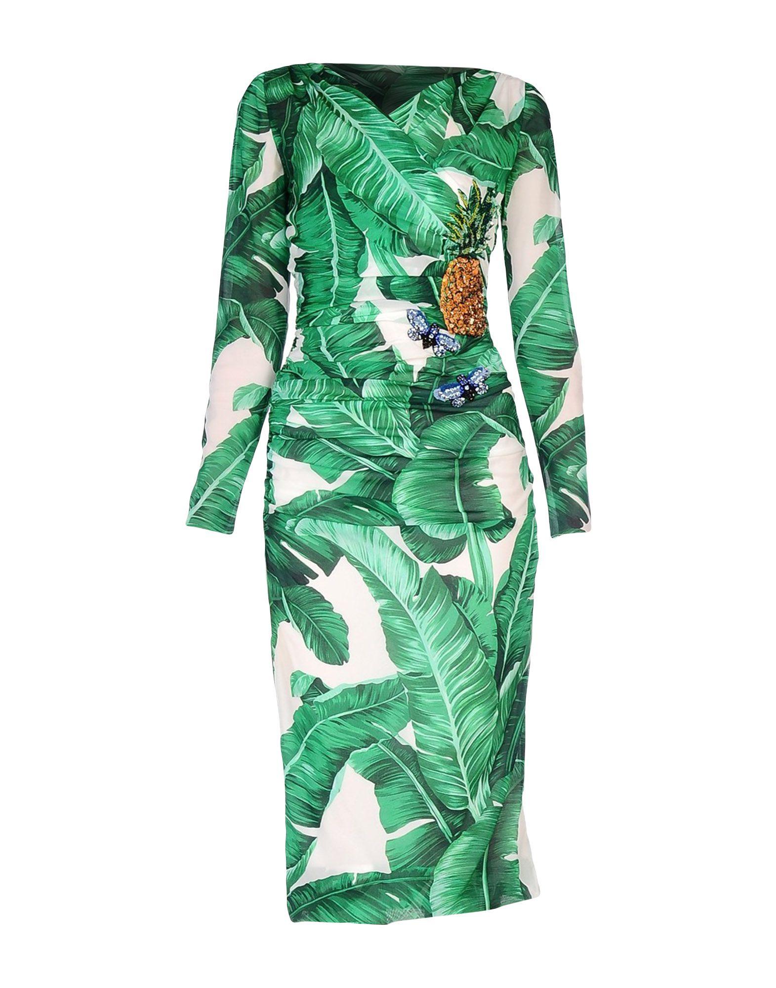 dolce and gabbana платье от gabbana 87443 DOLCE & GABBANA Платье длиной 3/4