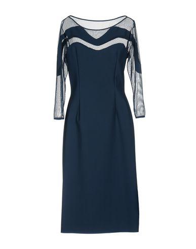 Фото 2 - Платье до колена от CHIARA BONI LA PETITE ROBE темно-синего цвета