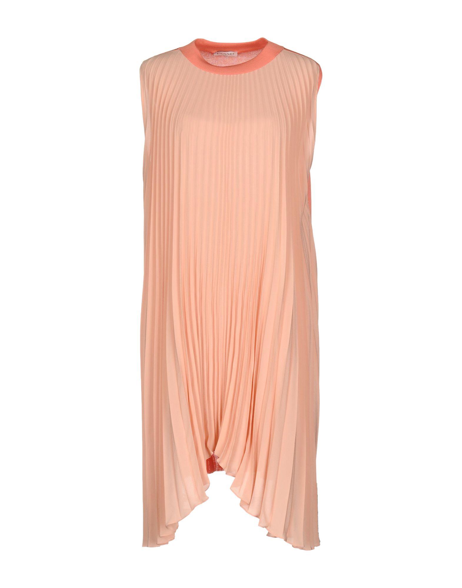 VIONNET Короткое платье vionnet накидка