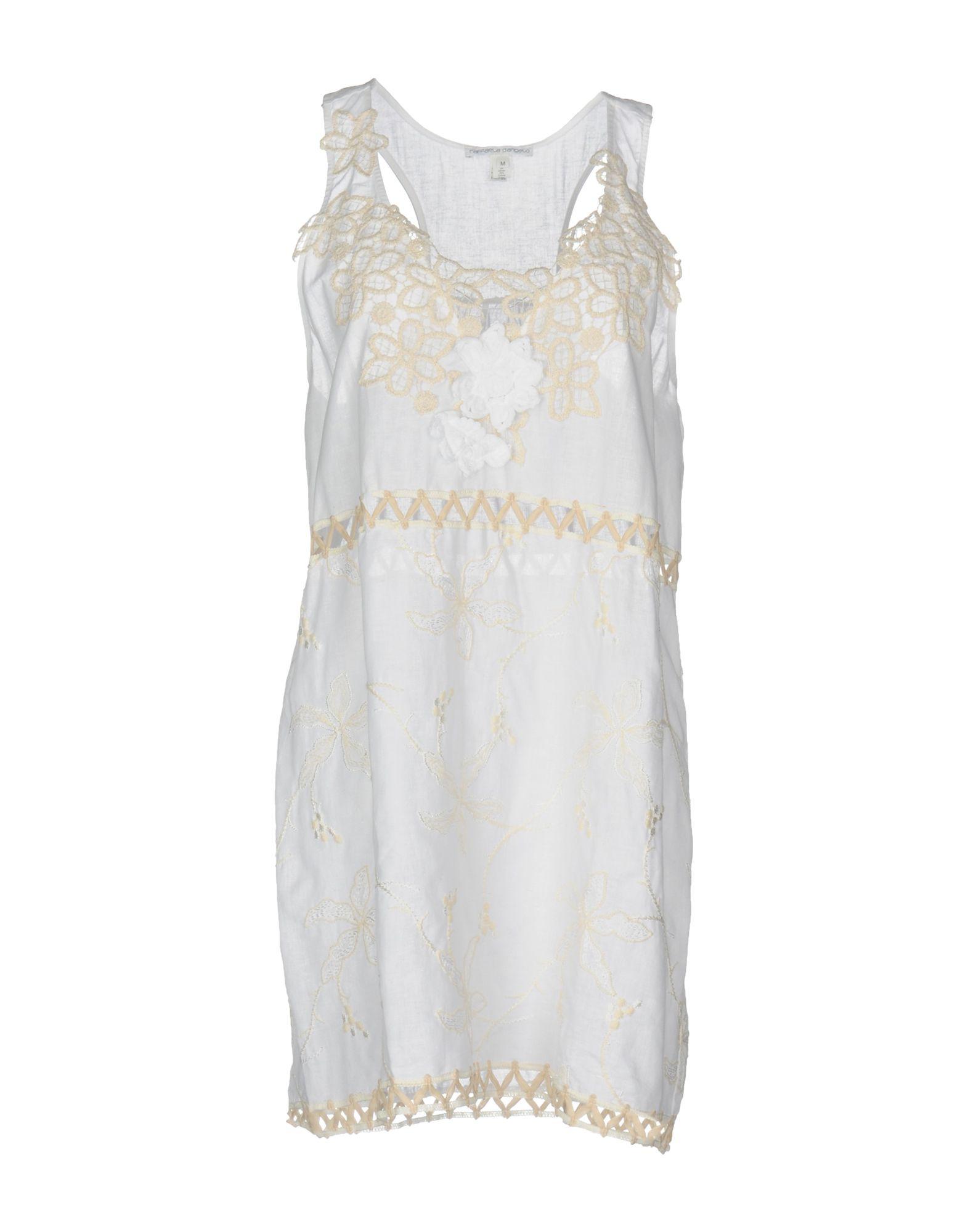 RAFFAELA D'ANGELO Короткое платье colosseo 81609 1w raffaela