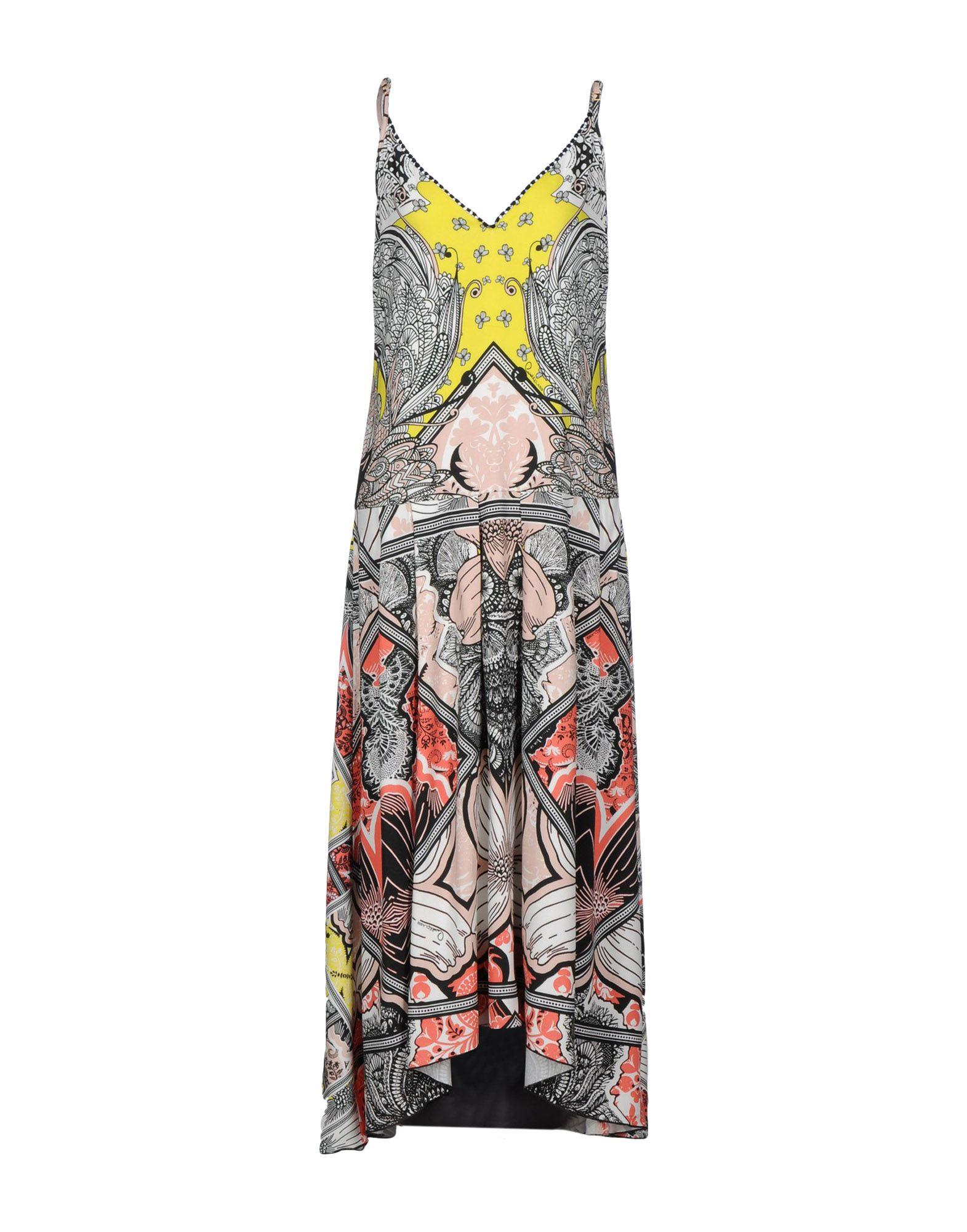 CLASS ROBERTO CAVALLI Длинное платье roberto cavalli длинное платье