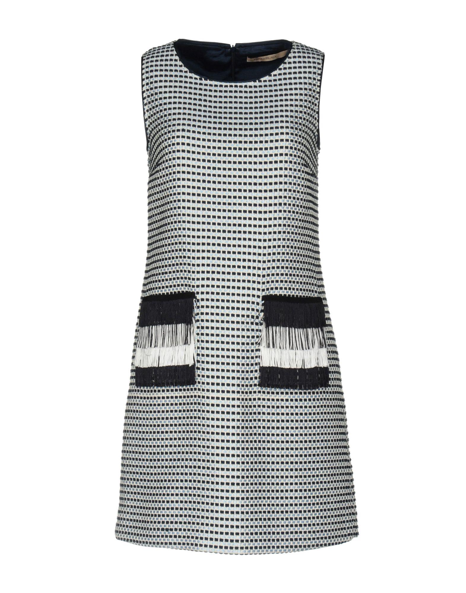 PENNYBLACK Damen Kurzes Kleid Farbe Dunkelblau Größe 4
