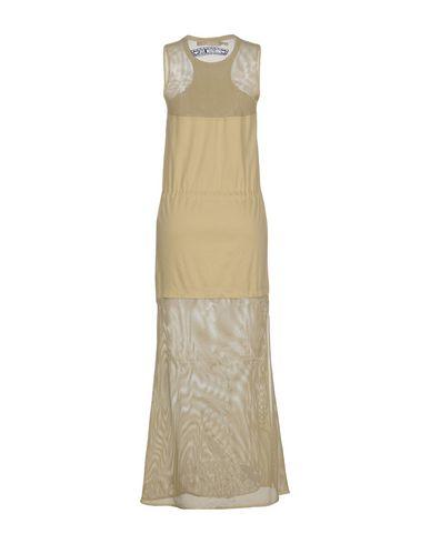 Фото 2 - Женское длинное платье  цвет зеленый-милитари