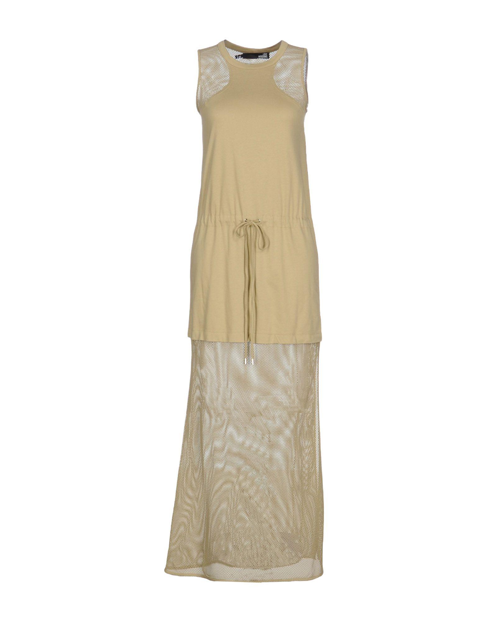 LOVE MOSCHINO Длинное платье