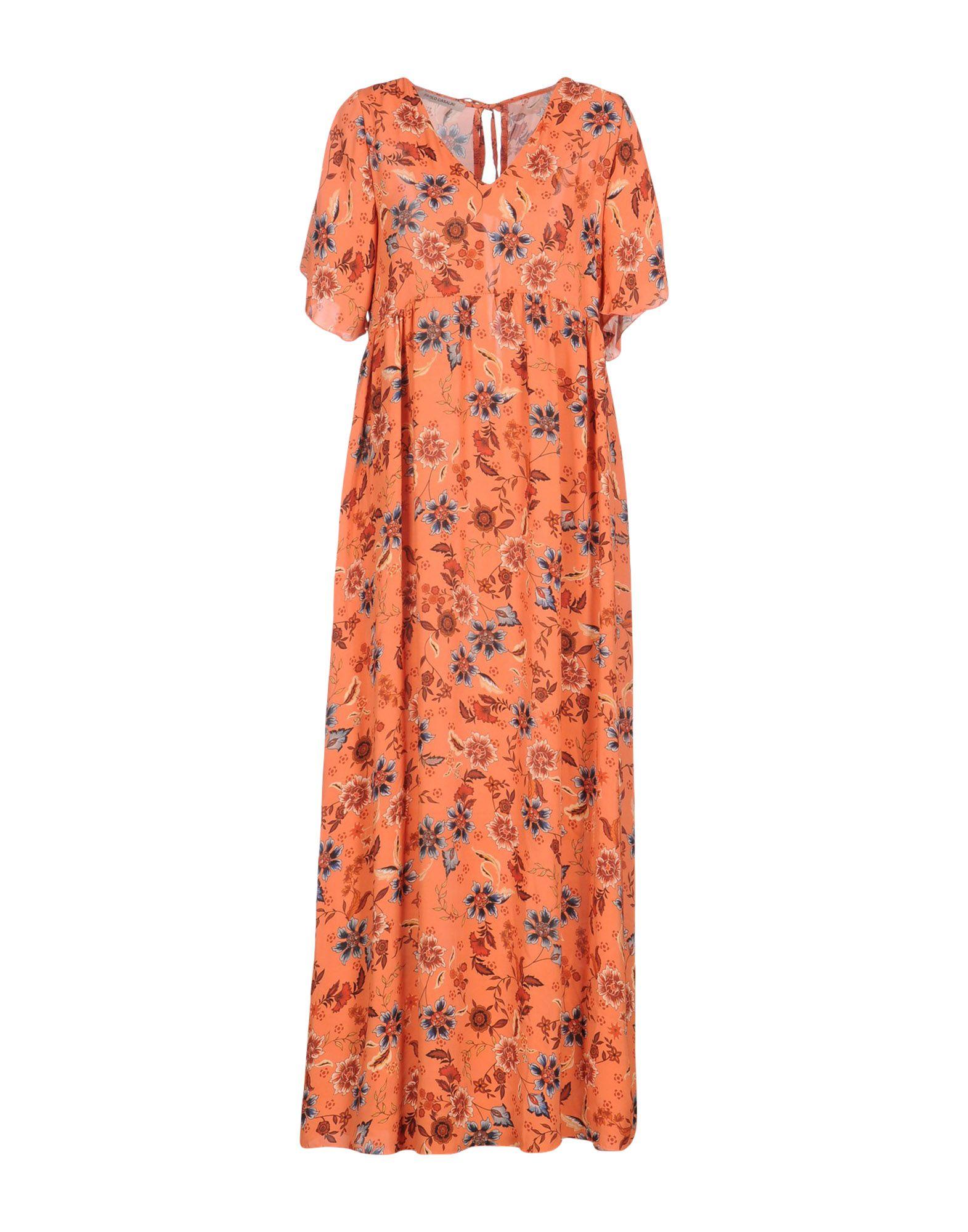 PAOLO CASALINI Длинное платье paolo casalini повседневные брюки