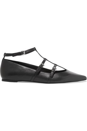 MICHAEL MICHAEL KORS Marta leather point-toe flats