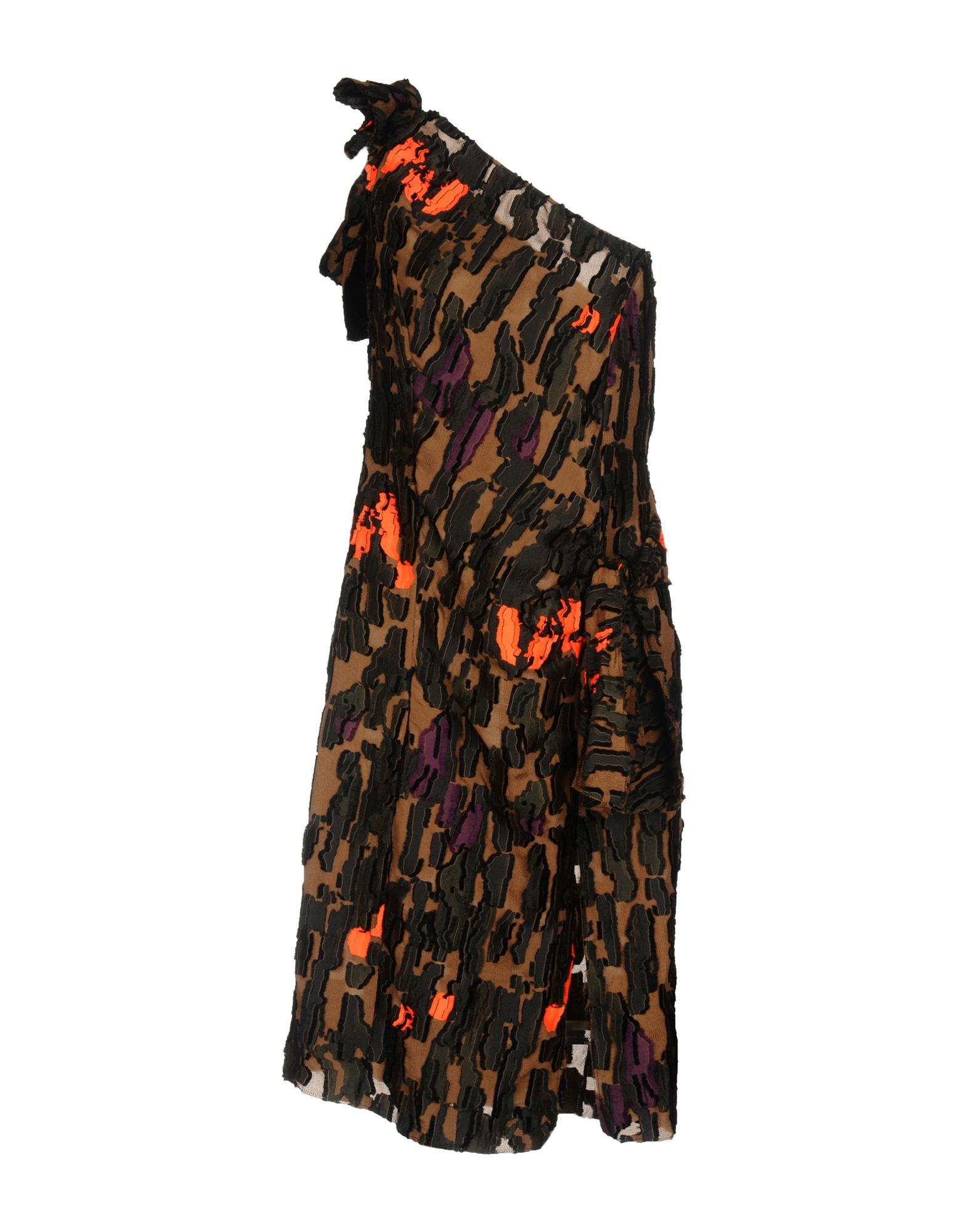 VERSACE   VERSACE Knee-length dresses 34795874   Goxip