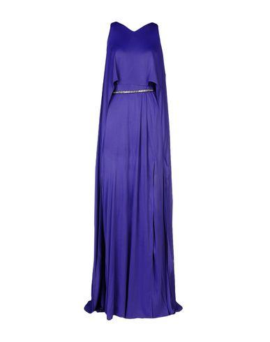 Фото - Женское длинное платье  фиолетового цвета