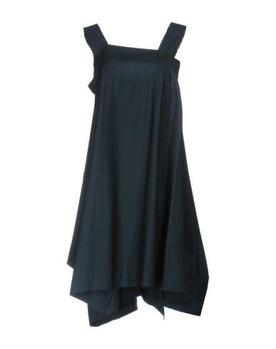 Фото - Женское короткое платье VIRNA DRÒ® темно-синего цвета