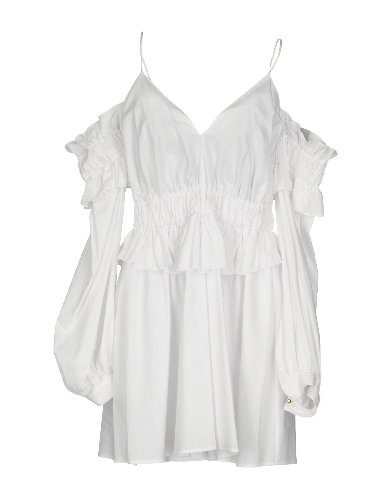 FRANCESCO SCOGNAMIGLIO Короткое платье francesco scognamiglio короткое платье