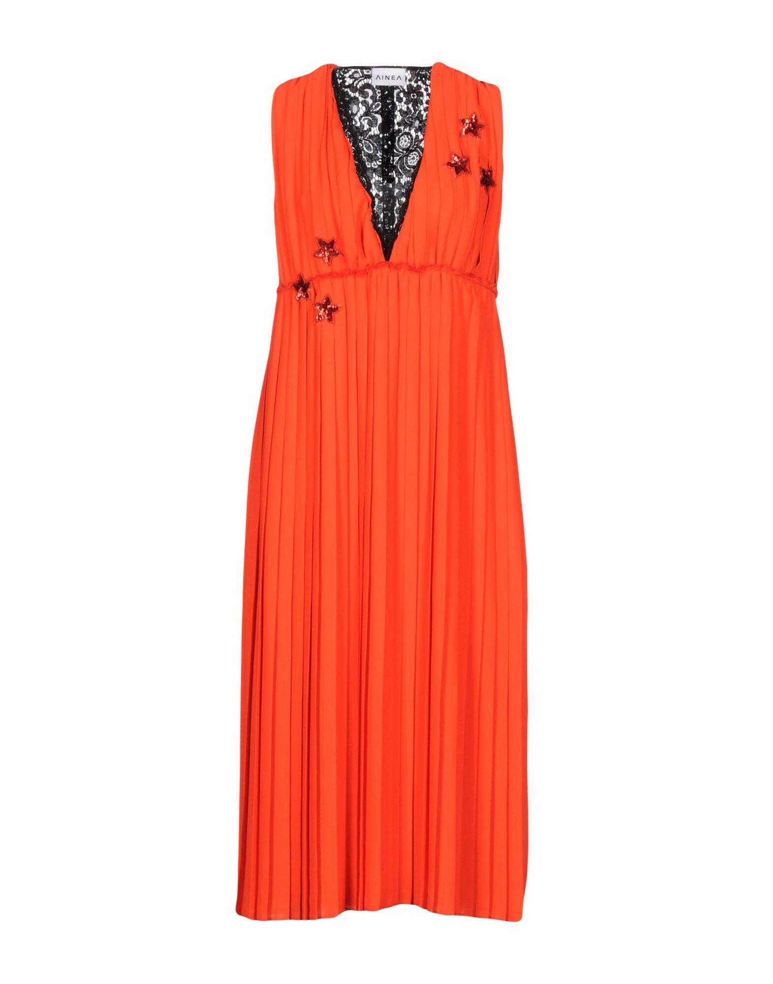 AINEA Платье длиной 3/4 lisa corti платье длиной 3 4