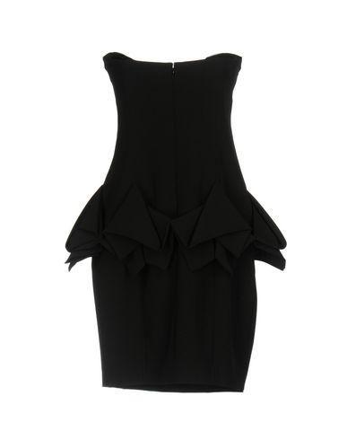 Фото 2 - Женское короткое платье JEREMY SCOTT черного цвета