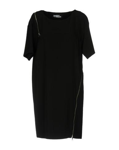 Фото - Женское короткое платье JEREMY SCOTT черного цвета