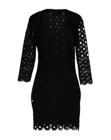 Фото 2 - Женское короткое платье JOVONNA черного цвета