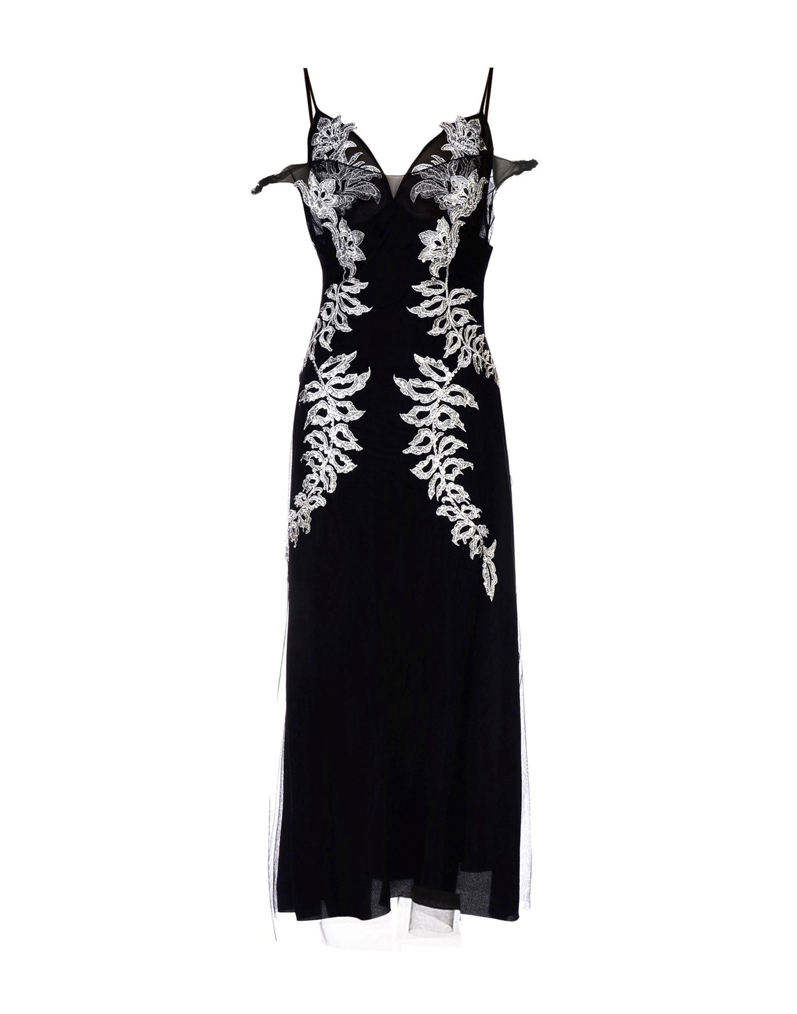 FRANCESCO SCOGNAMIGLIO Платье длиной 3/4 цена 2017