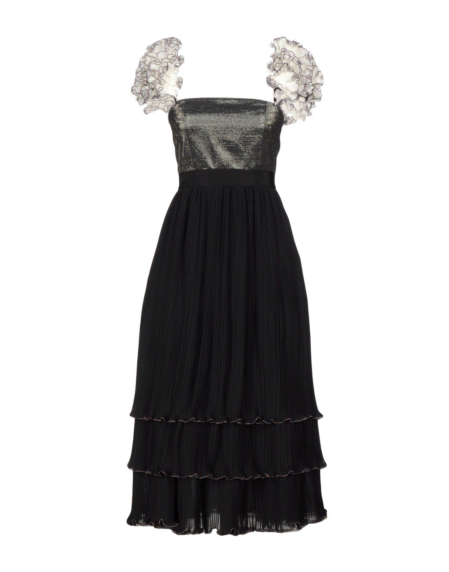 цена DANIELE CARLOTTA Платье длиной 3/4 онлайн в 2017 году