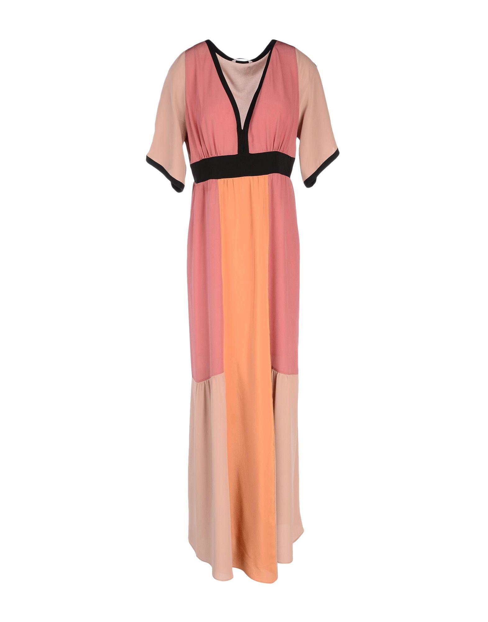 цена  MIKI THUMB Длинное платье  онлайн в 2017 году