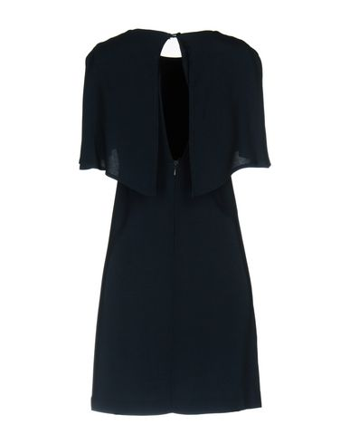 Фото 2 - Женское короткое платье KITAGI® темно-синего цвета