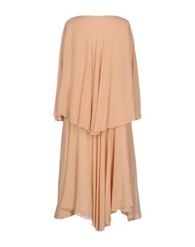 Фото 2 - Платье длиной 3/4 от MAISON LAVINIATURRA цвет песочный
