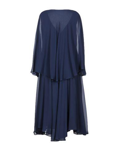 Фото 2 - Платье длиной 3/4 от MAISON LAVINIATURRA темно-синего цвета