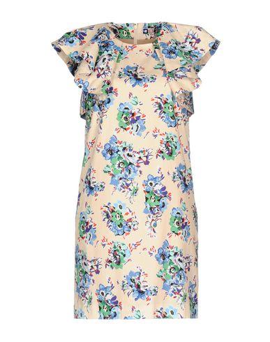 Фото - Женское короткое платье MSGM светло-розового цвета