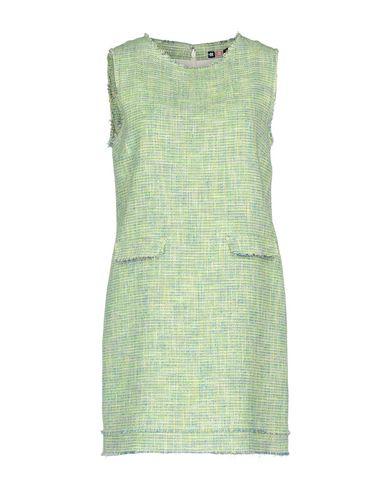 Фото - Женское короткое платье MSGM светло-зеленого цвета