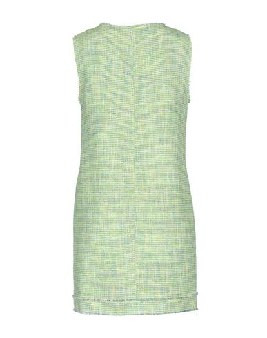 Фото 2 - Женское короткое платье MSGM светло-зеленого цвета