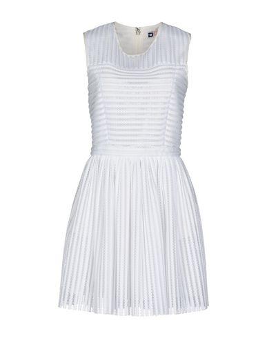 Купить Женское короткое платье MSGM белого цвета