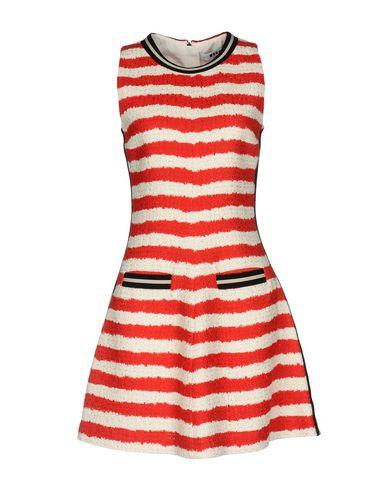 Купить Женское короткое платье MSGM красного цвета