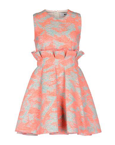 Купить Женское короткое платье MSGM розового цвета