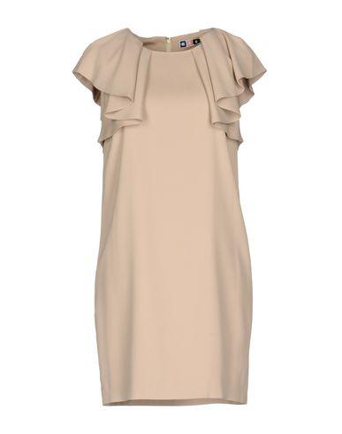Купить Женское короткое платье MSGM цвет телесный
