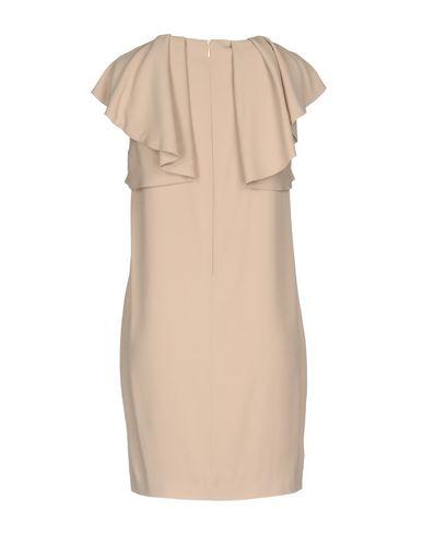Фото 2 - Женское короткое платье MSGM цвет телесный