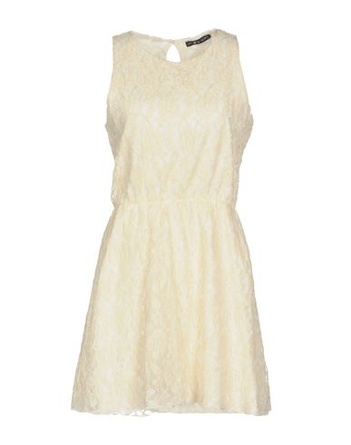 Фото - Женское короткое платье UFFICIO 87 цвет слоновая кость
