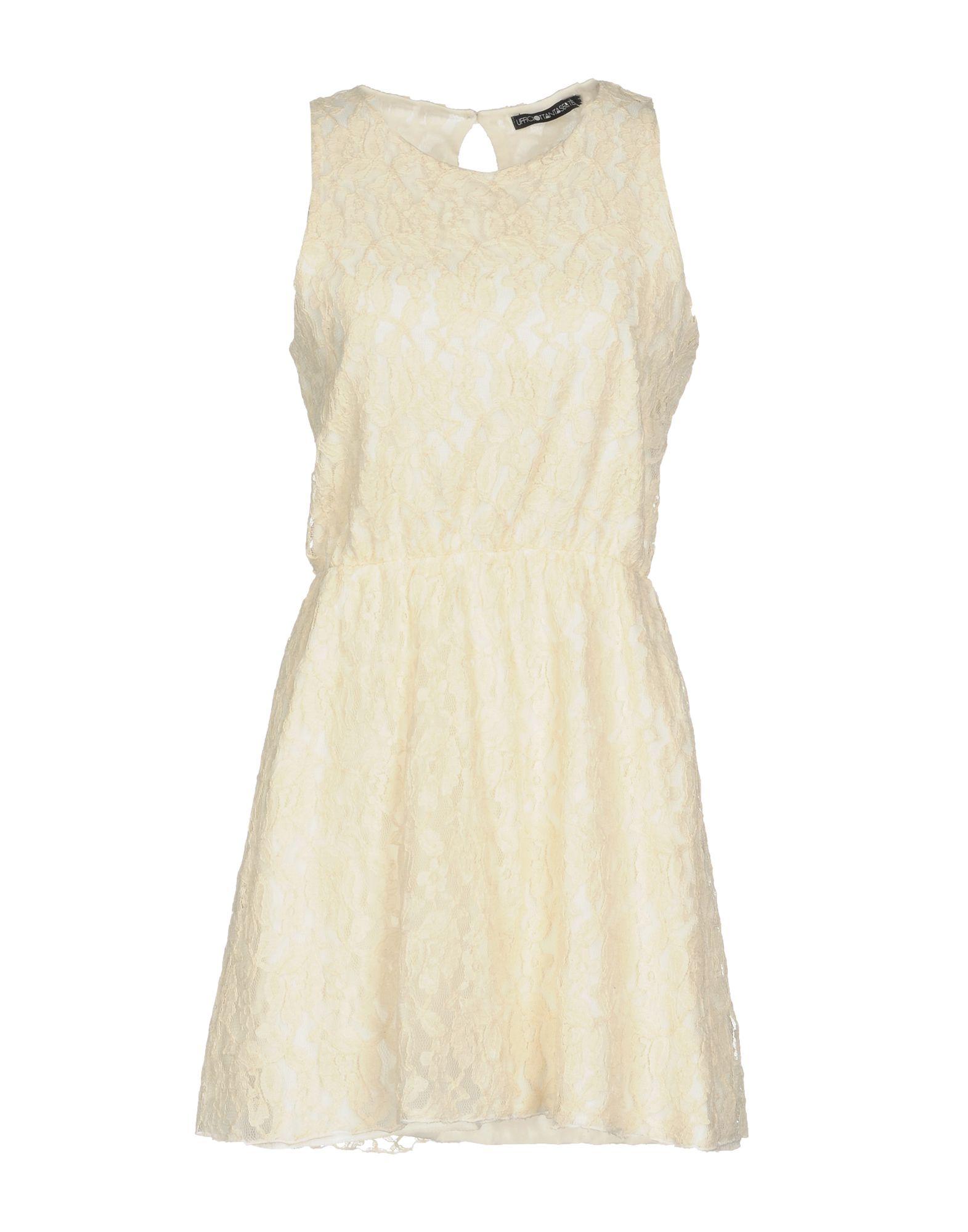 цена UFFICIO 87 Короткое платье онлайн в 2017 году