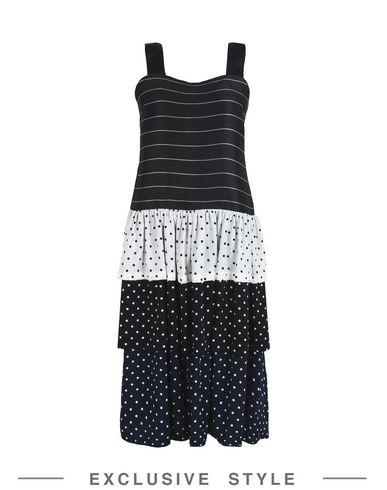 Фото - Платье до колена от FLEAMADONNA x YOOX черного цвета