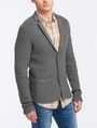 ARMANI EXCHANGE PIQUE STITCH SWEATER BLAZER Blazer Man d