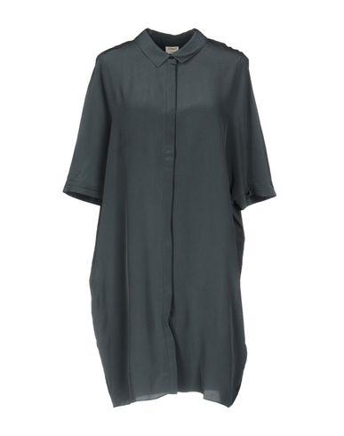Купить Женское короткое платье CHARLI грифельно-синего цвета