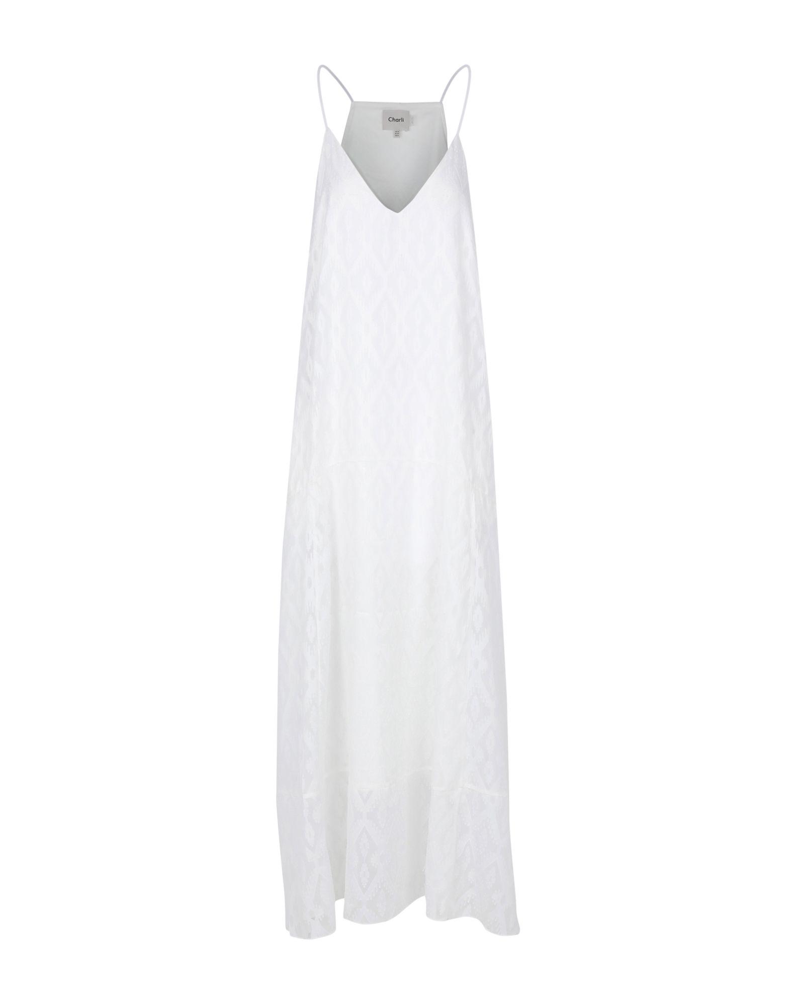 CHARLI Платье длиной 3/4 charli топ без рукавов